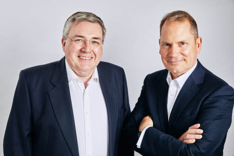 Fraser Curley, Group Chairman, Wray Castle Group (right) and Andrew White, Group Chief Executive Officer, Wray Castle Group (left). (Photo: Business Wire)