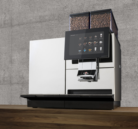 Thermoplan IoT-enabled coffee machine (Photo:Business Wire)