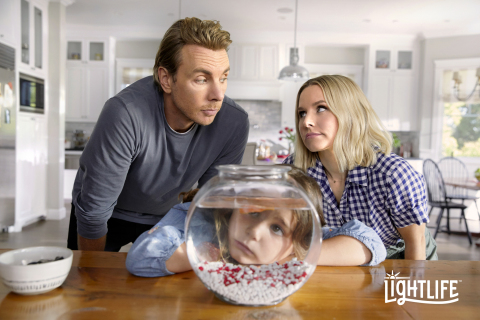 """""""A Taste of Honesty"""" campaign draws on relatable and universally awkward parenting conversations to highlight Kristen Bell and Dax Shepard's refreshingly honest parenting style. (Photo: Business Wire)"""