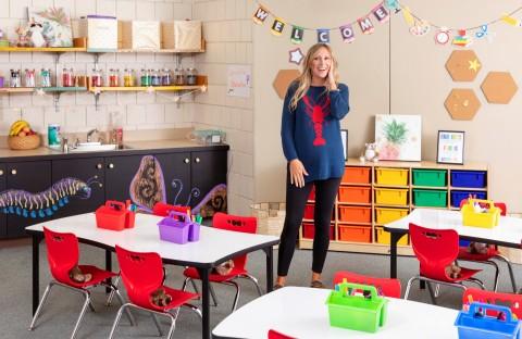 Wayfair Professional Dream Classroom Giveaway winner (Photo: Business Wire)