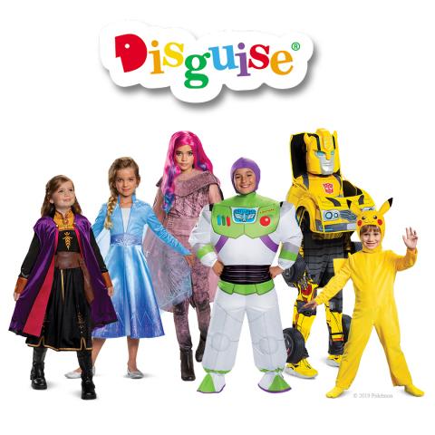 Disguise's 2019 Hot Costumes - Disney's Frozen 2, Descendants 3, Disney•Pixar Toy Story 4, Transformers, Pokémon (Photo: Business Wire)