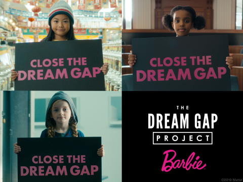 Barbie Dream Gap Project Launches GoFundMe Initiative (Photo: Business Wire)
