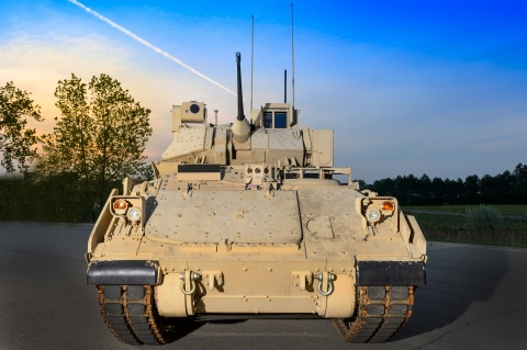 BAE Systems has been awarded a contract modification worth up to $269 million for continued production of the Bradley Fighting Vehicle (BFV).The award covers the upgrade of an additional 168 upgraded Bradley A4 configuration. (Photo: BAE Systems)