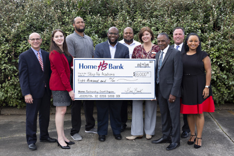 An $8K grant from Home Bank and FHLB Dallas will help fund Step Up Acadiana's youth financial literacy program in Lafayette, Louisiana. (Photo: Business Wire)