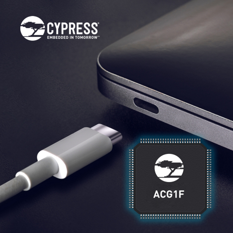 The Cypress ACG1F brings USB-C performance and versatility to entry-level PCs and notebooks (Photo: Business Wire)