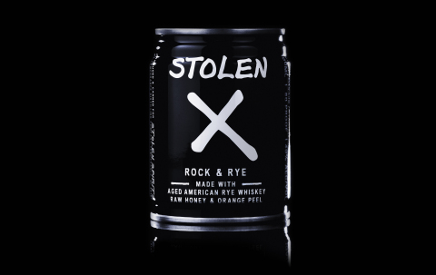 "Stolen Spirits, which successfully launched Stolen X in 1L and 750ml bottles earlier this year, is now extending the line with 100ml cans. Based on a pre-prohibition spirit known as ""Rock & Rye,"" Stolen X is made with straight American rye whiskey, and then blended with organic raw honey and real orange peel. The aged rye whiskey and all-natural ingredients create a smooth and perfectly balanced flavor profile. (Photo: Business Wire)"