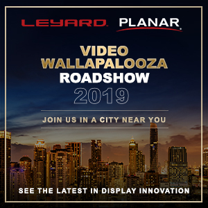 Leyard and Planar bring the latest in display technology across the U.S. and Canada at Video Wallapalooza 2019 (Graphic: Business Wire)