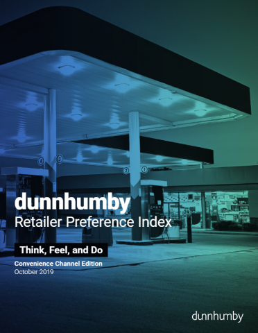 The second annual dunnhumby Retailer Preference Index for the Convenience Channel published October 2019 (Photo: Business Wire)