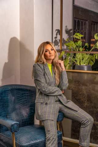 Find your new fall go-to pieces with the Becca Tilley x bar III collection, launching online at macys.com and in select Macy's stores on October 9, $39.50 - $129.50. (Photo: Business Wire)