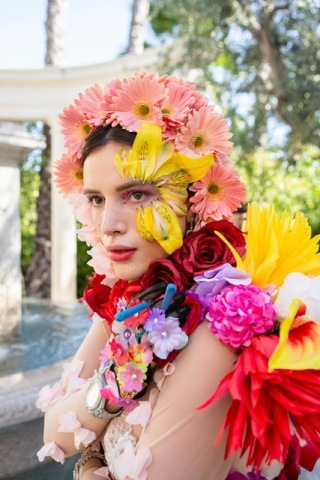 Bella Thorne, the artist, actress, musician, best-selling author, director, entrepreneur and long-time cannabis enthusiast, has joined forces with Glass House Group, one of the fastest-growing, privately held, vertically integrated cannabis and hemp companies in the U.S., through its cultivation division Glass House Farms, to launch Forbidden Flowers, a new cannabis and CBD brand. Photo courtesy of Bella Thorne's Forbidden Flowers and Glass House Group.