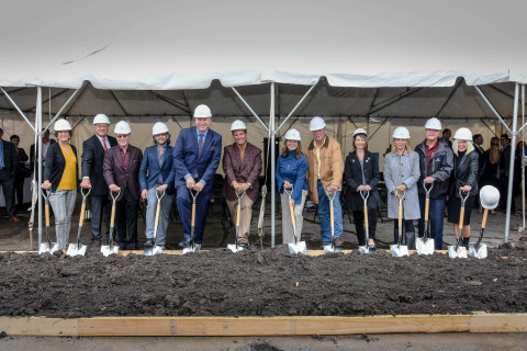 Senior Lifestyle Corporation and Kaufman Jacobs broke ground on The Sheridan at River Forest, which has a target opening of early 2021. Pictured from left to right is Carla Sloan – River Forest Township Supervisor; Matt Phillips - Executive Vice President, Senior Lifestyle; Bill Kaplan, Co-Founder and Chairman, Senior Lifestyle; Jeremy Kaufman - Chief Executive Officer, Kaufman Jacobs; Lee Neubecker – Chairman, River Forest Economic Development Commission; Peter Silvestri - Cook County Commissioner; Catherine Adducci – President, Village of River Forest; Thomas Cargie - Trustee, Village of River Forest; Patty Henek – Trustee, Village of River Forest; Katie Brennan – Trustee, Village of River Forest; Respicio Vazquez – Trustee, Village of River Forest; Maryanne Fishman – Member, River Forest Development Review Board. For more information, visit seniorlifestyle.com.