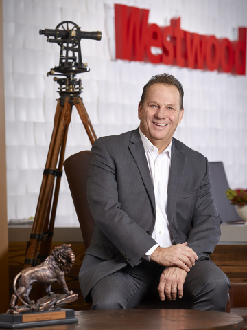 Paul Greenhagen, PS, Westwood's President/CEO, was awarded the prestigious Courage in Leadership Award from Zweig Group. (Photo: Business Wire)