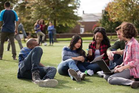 Aramark, the award-winning food and facilities partner of more than 400 colleges and universities across the U.S., is taking the lead in addressing food insecurity in the higher education space through a multiyear commitment to support Swipe Out Hunger, a national nonprofit who partners with colleges and universities to provide financially and logistically efficient anti-hunger programs. (Photo: Business Wire)