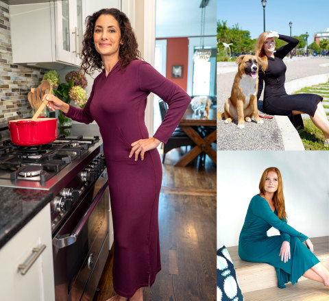 I Love My Nighty Puts Athleisure to Bed With Eco-Friendly Luxury Nightgowns and Loungewear (Photo: Business Wire)