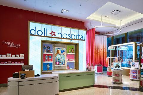The all-new American Girl Doll Hospital available exclusively at the company's New York and Chicago retail locations.  (Photo: Business Wire)