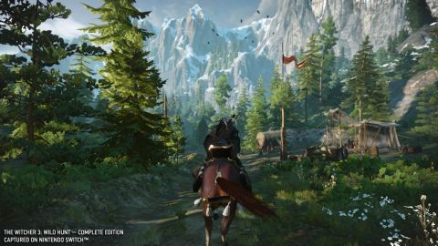 The Witcher 3: Wild Hunt – Complete Edition will be available on Oct. 15. (Photo: Business Wire)