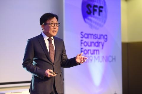 SFF 2019 Munich_ES Jung keynote speech (Photo: Business Wire)