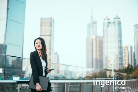 Ingenico bringt ein umfassendes Angebot chinesischer Zahlungsmethoden für internationale E-Commerce-Unternehmen auf den Markt (Photo: Business Wire)