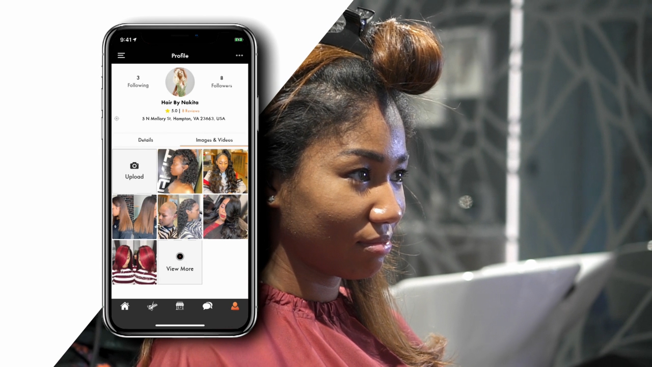 Hair Inferno™ allows beauty professionals to book client appointments, connect with other beauty professionals, sell products and grow their business all on one platform.