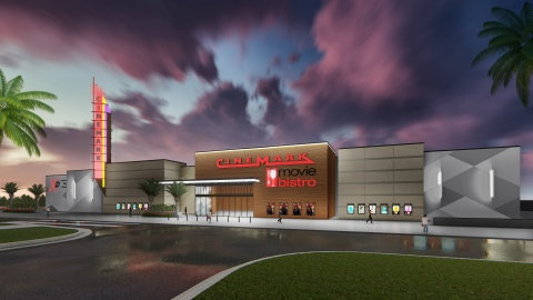 Cinemark to open a new 12-screen theatre in River Oaks Properties' Eastlake Marketplace in El Paso, Texas in the Fall of 2020. (Photo: Business Wire)