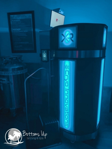 The XR Cryo Chamber has brought cool relief to the tanning industry (Photo: Business Wire)