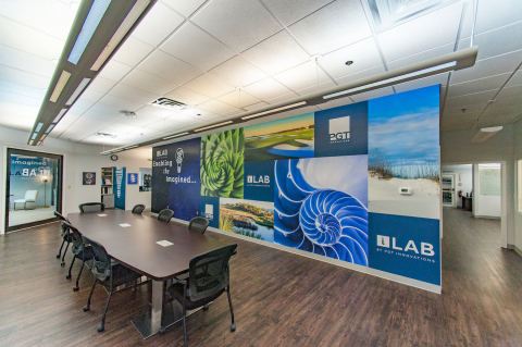 The interior of the office area inside the new iLab. (Photo: Business Wire)