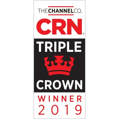 CRN Triple Crown Winner (Graphic: Business Wire)