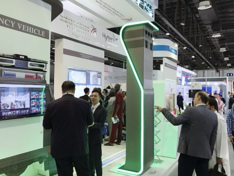 Hytera at GITEX (Photo: Business Wire)