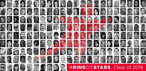 Two hundred of Aramark's outstanding team members from around the world have been named to the company's Ring of Stars and will be recognized during an exclusive celebration in Scottsdale, AZ, this week. (Graphic: Business Wire)