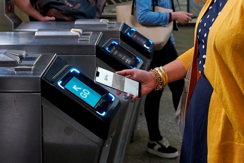 Cubic and Google Pay enable transit cards for Android phones. (Photo: Business Wire)