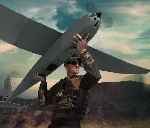 AeroVironment's new Puma LE small unmanned aircraft system (Photo: AeroVironment)