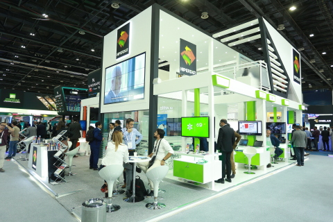 The Hiperdist stand H3-F1, Hall-3 at GITEX 2019 (Photo : AETOSWire)