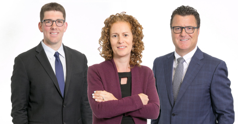 The sexual abuse legal team: attorneys Mark Boskovich, Lauren Cerri and Robert Allard. (Photo: Business Wire)
