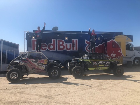 Polaris RZR Factoring Racing Triumphs at Laughlin Desert Classic, with Mitch Guthrie Jr. and Seth Quintero Capturing Overall Series Championships (Photo: Business Wire)