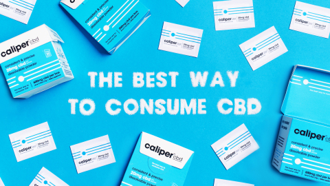 NEW Caliper CBD is the best way to consume CBD. (Graphic: Business Wire)