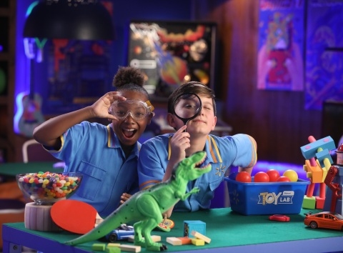 Beginning today, kids are invited to check out the Walmart Toy Lab where they can interact with this year's hottest toys through an interactive digital experience available online. (Photo: Business Wire)