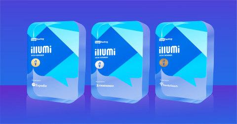 UserTesting illumi Awards 2019 (Photo: Business Wire)