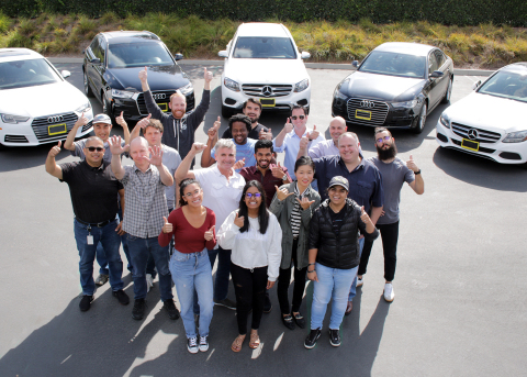 The Turn team in Irvine, CA (Photo: Business Wire)