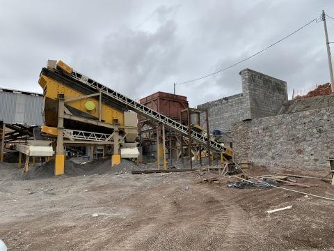 New Crushing Circuit at Cusi Mine (Photo: Business Wire)