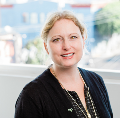 Amanda Vinson has joined Upwork as senior vice president of corporate strategy and development. (Photo: Business Wire)