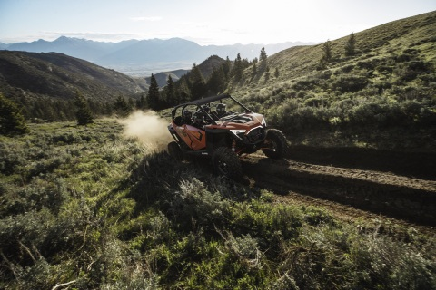 Built From the Inside Out with All Four Riders In Mind Polaris RZR PRO XP 4 Expands the RZR Pro Class with an Unparalleled Four-Seat Offering (Photo: Business Wire)