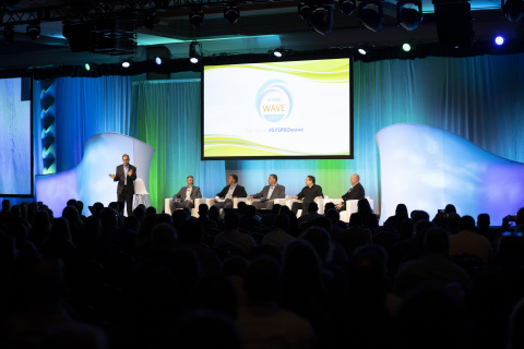 Haresh Malkani, CTO of CESMII, moderated the Customer Panel at last month's SYSPRO WAVE 2019 Customer Conference in Huntington Beach, CA. SYSPRO recently announced its partnership with CESMII, which combines public and private innovation leadership designed to accelerate U.S. advanced manufacturing initiatives. (Photo: Business Wire)