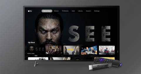 Apple TV - on Roku devices. (Graphic: Business Wire)