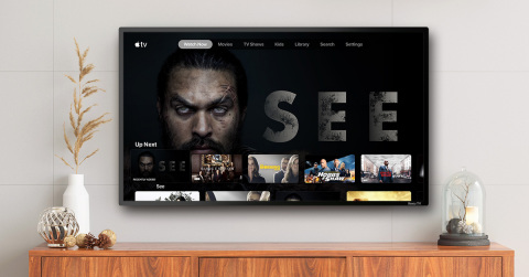 Apple TV - on Roku devices. (Photo: Business Wire)