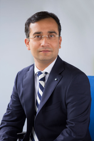 Kapil Bansal, Senior Vice President of Commercial, Consumer, and Medical Products, TÜV SÜD America (Photo: Business Wire)