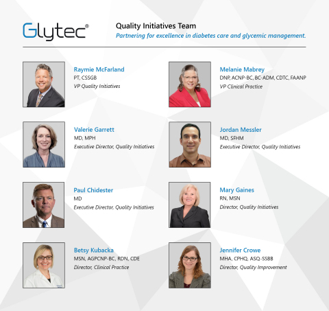 """Glytec's new Quality Team is partnering with healthcare organizations to achieve clinical excellence in diabetes care and glycemic management. """"The programs we're offering are designed not only to optimize the patient and the provider experience, but also to engage senior leadership on improvements in clinical and financial outcomes,"""" says Raymie McFarland, Vice President of Quality Initiatives. (Photo: Business Wire)"""