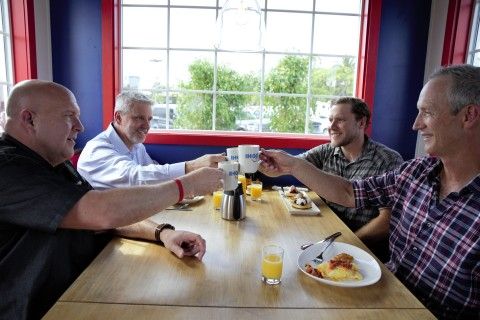 "Created in partnership with A&E's ""Tiny House Nation,"" the Tiny IHOP is a mere 170 square feet and equipped with a functional kitchen. Fans of IHOP can unlock access to dine in the Tiny IHOP by signing up for its MyHOP email club by Oct. 20, 2019. (Photo: Business Wire)"