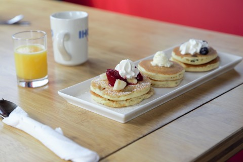 The Tiny IHOP Dinner Series will take place Thursday, December 12 through Sunday, December 15, 2019, at a secret location in Los Angeles, and those lucky enough to score a reservation will be treated to a tiny menu of IHOP dishes. Reservation booking available exclusively to MyHOP email club members. (Photo: Business Wire)