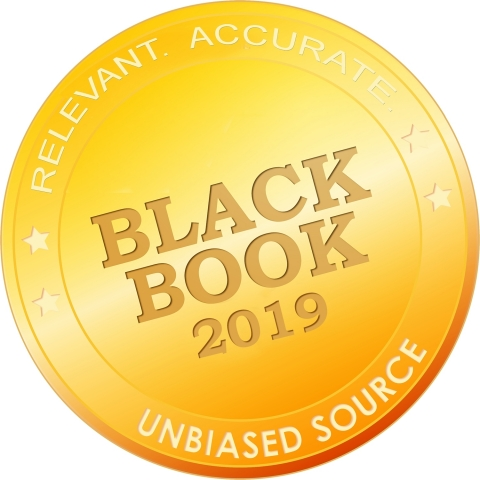 XIFIN was recently recognized as the No. 1 company for outsourced laboratory support and RCM according to a recent Black Book research survey. (Graphic: Business Wire)