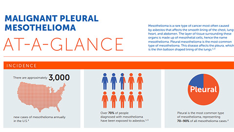 Learn more about malignant pleural mesothelioma. (Graphic: Business Wire)